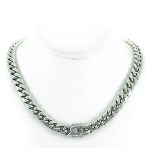 Other - Heavy Miami Cuban Chain Necklace Stainless Steel